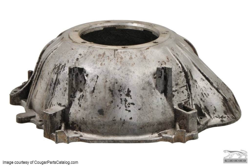 Bell Housing - Automatic Transmission - C-4 - Grade A - Used ~ 1967 - 1968 Mercury Cougar / 1967 - 1968 Ford Mustang - 16-0080