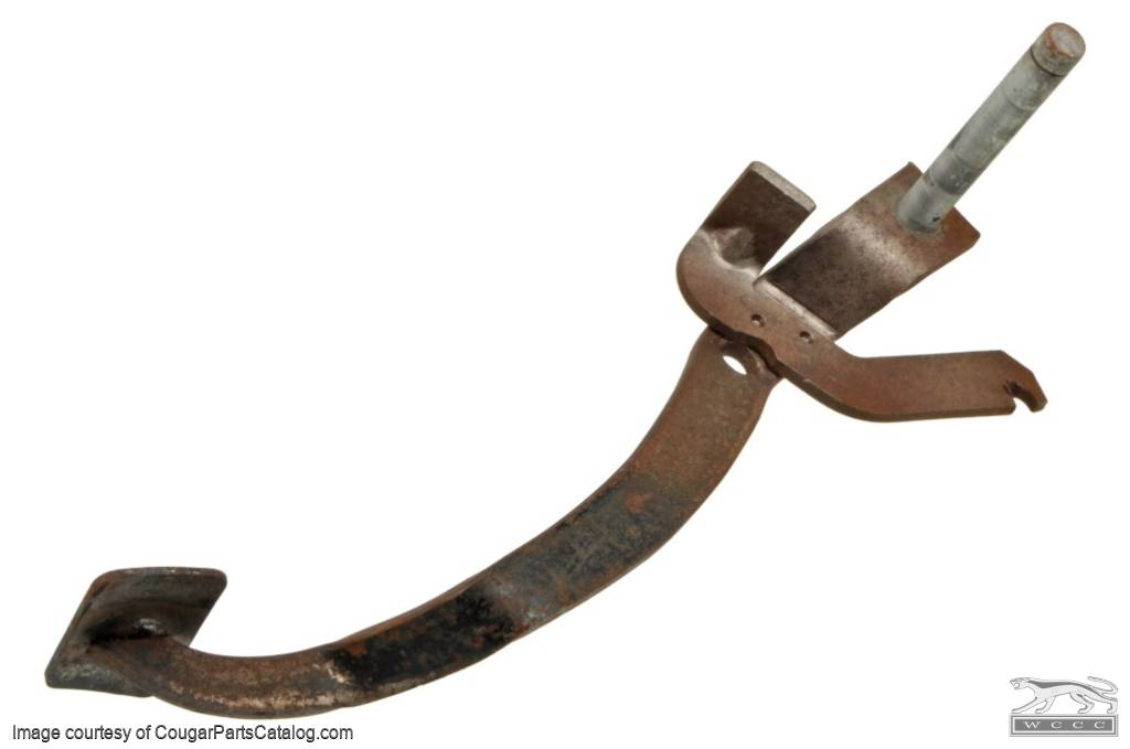 Clutch Pedal - Used ~ 1968 Mercury Cougar / 1968 Ford Mustang - 24552