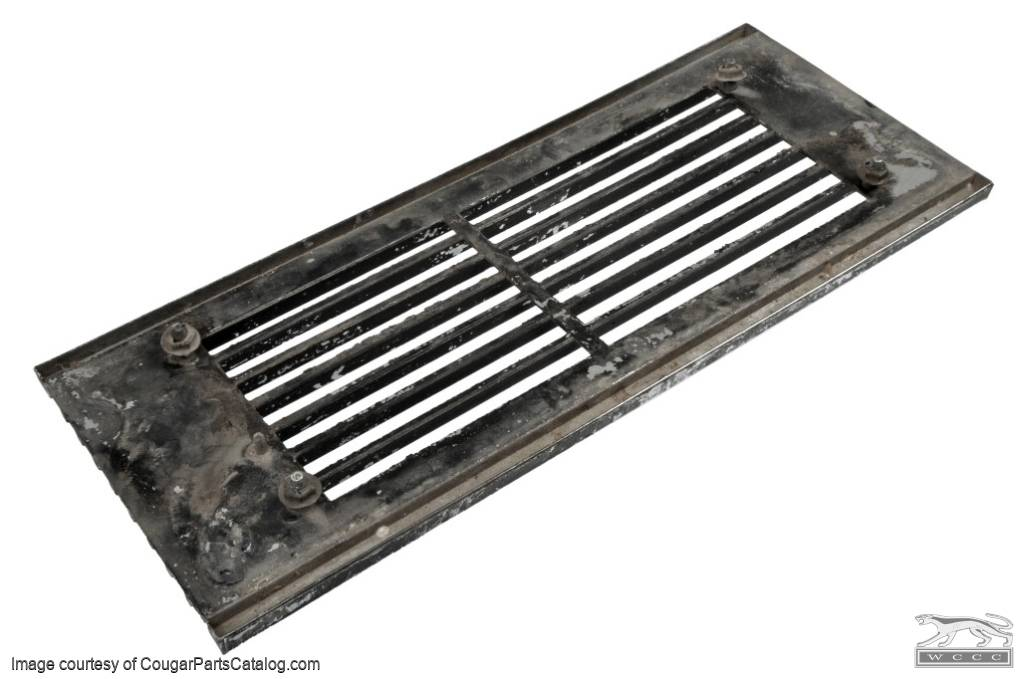 Grille / Headlight Eyelid Door - Driver Side - Grade A - Used ~ 1969 Mercury Cougar - 24658