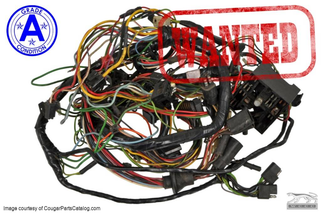 1969 Cougar Wiring Harness - Wiring Diagram M2 on
