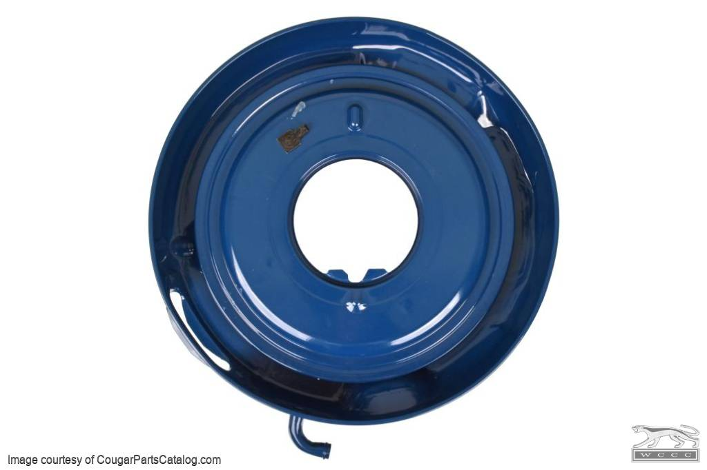 Base - Air Cleaner - Ram Air - 428CJ - LATE - After 2/17/1969 - Used ~ 1969 Mercury Cougar / 1969 Ford Mustang - 24817