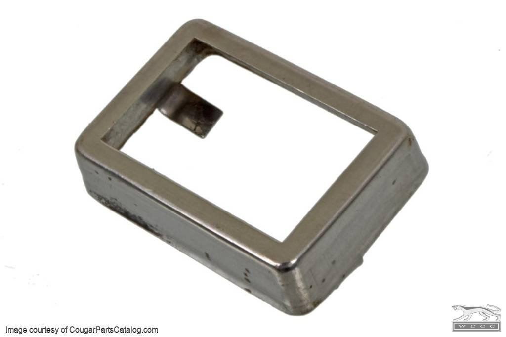 Trim - Pedal Pad - Emergency / Parking Brake - Used ~ 1969 - 1973 Mercury Cougar / 1969 - 1973 Ford Mustang - 24836