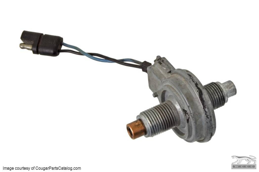 Modulation System - Speed Sensor - Used ~ 1970 Mercury Cougar / 1970 Ford Mustang - 25010