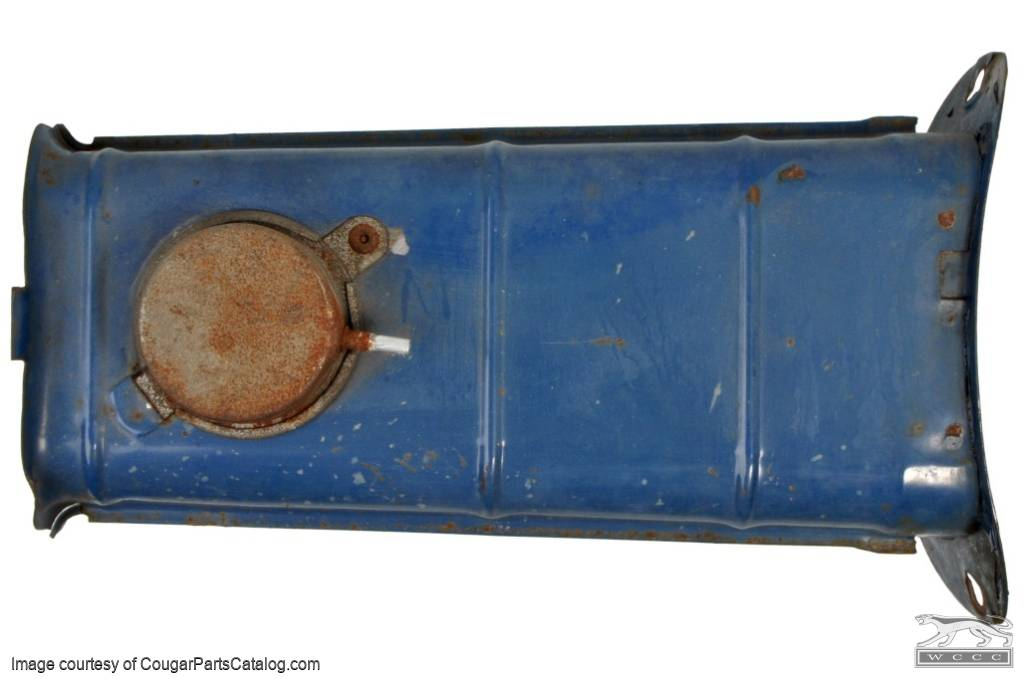 Snorkel - Air Cleaner - 351-2V / 4V - Used ~ 1971 - 1972 Mercury Cougar / 1971 - 1972 Ford Mustang