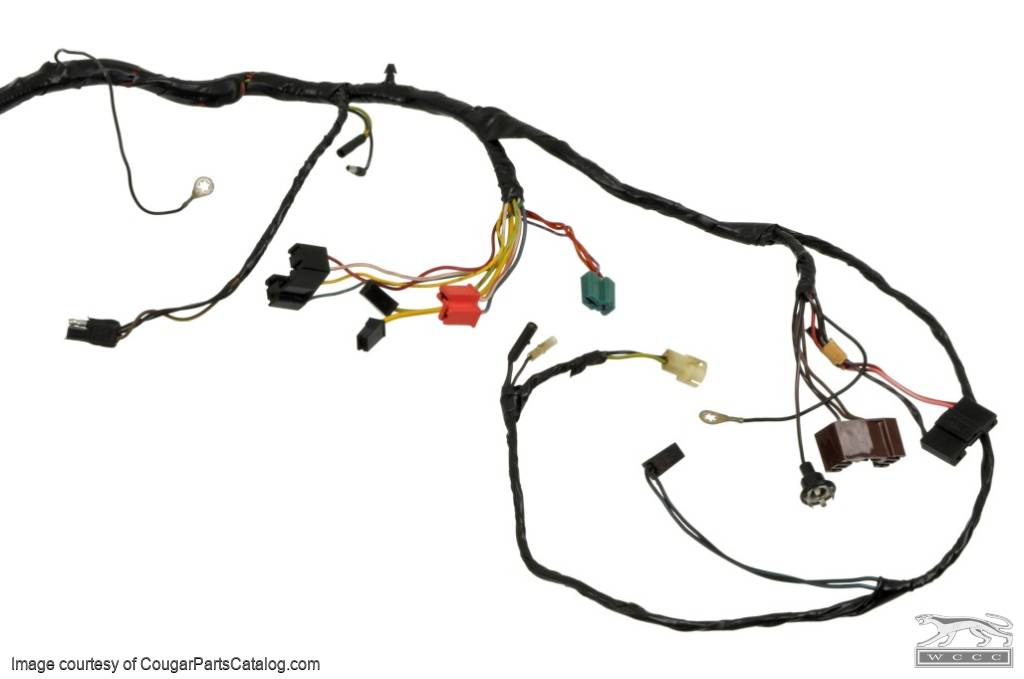 under dash wiring harness - xr7 - grade a