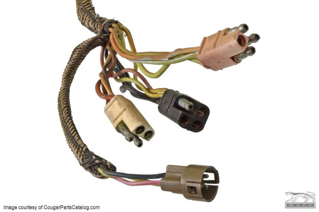 Taillight Wiring Harness - XR7 - Grade A - Used ~ 1971 - 1972 Mercury Cougar - 25518