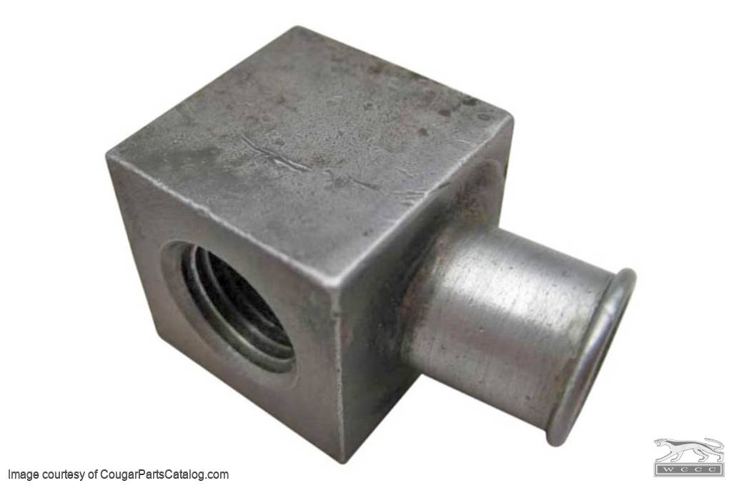 Adapter - PCV Valve To Hose - 390 GT / 428CJ - Used ~ 1967 - 1970 Mercury Cougar / 1967 - 1970 Ford Mustang - 25677
