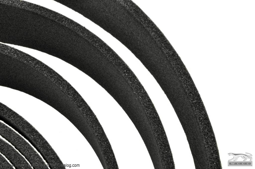 Seal - Roof Rail Weatherstrip - Repro ~ 1967 - 1973 Mercury Cougar / 1967 - 1973 Ford Mustang - 25866