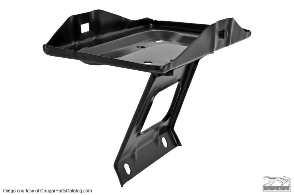 Battery Tray - Group 24 - Repro ~ 1967 - 1970 Mercury Cougar / 1967 - 1970 Ford Mustang - 25986