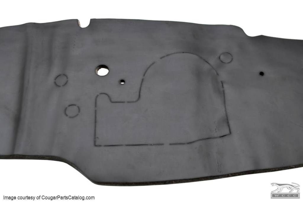 Firewall Insulation Pad - Non A/C - ECONOMY - Repro ~ 1967 - 1968 Mercury Cougar / 1967 - 1968 Ford Mustang - 26048