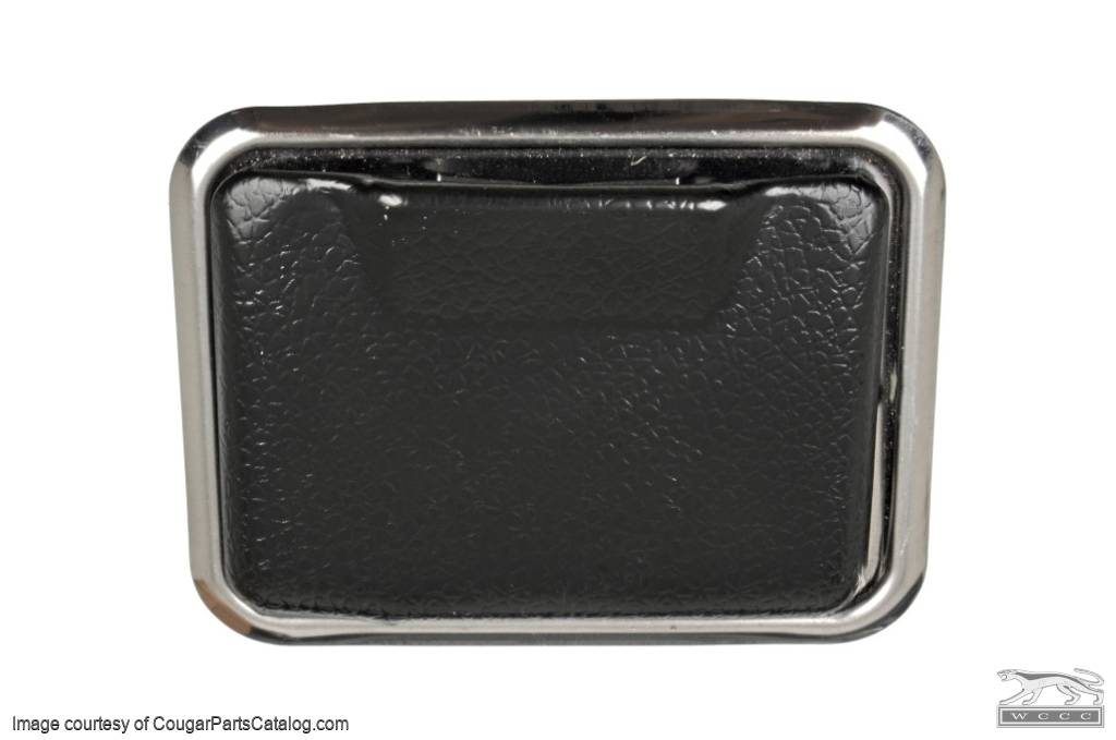 Rear Console Ashtray Bezel & Ash Tray - Repro ~ 1969 - 1970 Mercury Cougar - 1969 - 1970 Ford Mustang - 26074