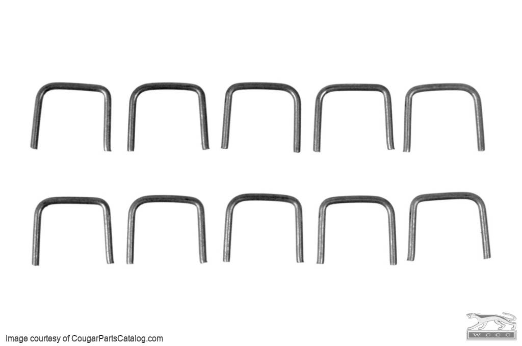 Seal - Radiator Support to Hood - Repro ~ 1967 - 1970 Mercury Cougar / 1967 - 1970 Ford Mustang - 26532