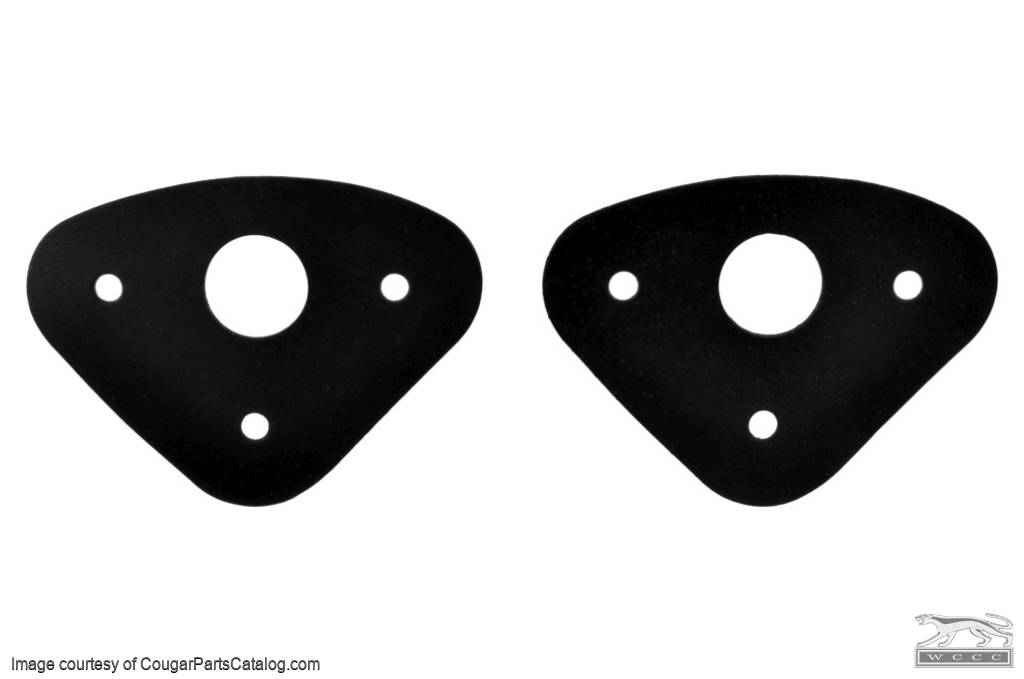 Windshield Wiper - Pivot To Cowl Seals - Repro ~ 1967 - 1968 Mercury Cougar / 1967 - 1968 Ford Mustang - 26644