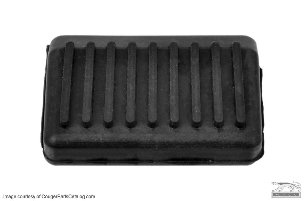Foot Pedal Pump Pad - Windshield Washer - Repro ~ 1967 - 1968 Mercury Cougar / 1967 - 1968 Ford Mustang - 26665