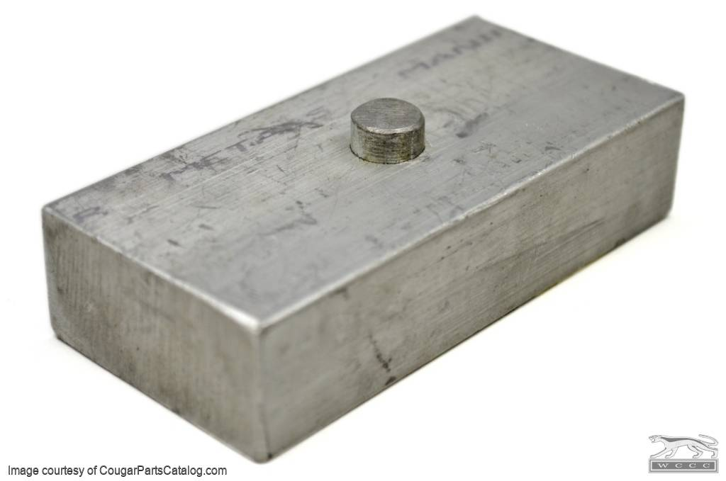 Rear End Lowering Block - 1 Inch - Repro ~ 1967 - 1973 Mercury Cougar - 1967 - 1973 Ford Mustang - 26752