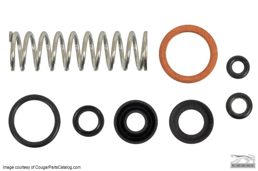 Seal - Rebuild Kit - Distribution Block - Disc Brake - New ~ 1970 - 1973 Mecury Cougar - 1970 - 1973 Ford Mustang - 27603