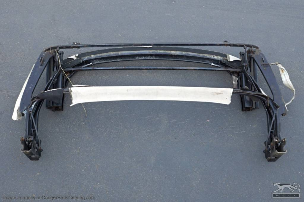 Convertible Top Frame - Complete - Used ~ 1971 - 1973 Mercury Cougar / 1971 - 1973 Ford Mustang  - 30147
