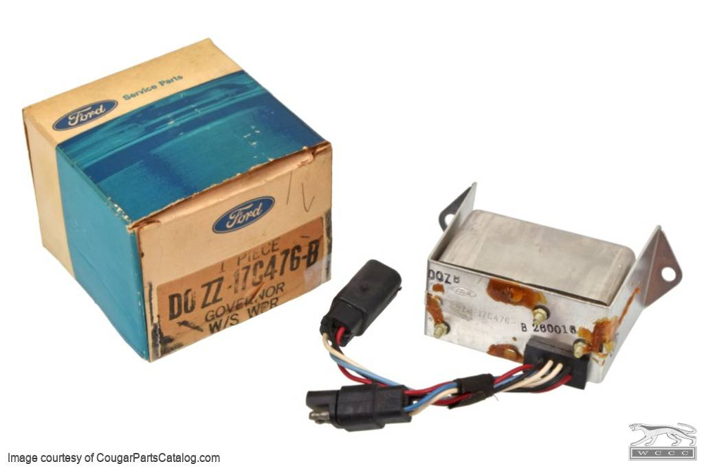 Controller - Intermittent Wiper - NOS ~ 1969 - 1970 Mercury Cougar / 1969 - 1970 Ford Mustang  - 30155