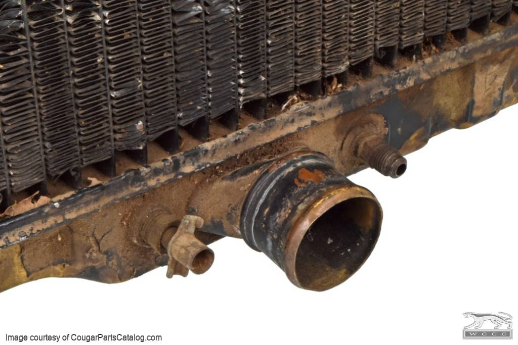 Radiator - 24 Inch - 390 - Auto - Core ~ 1968 Mercury Cougar / 1968 Ford Mustang - 30222