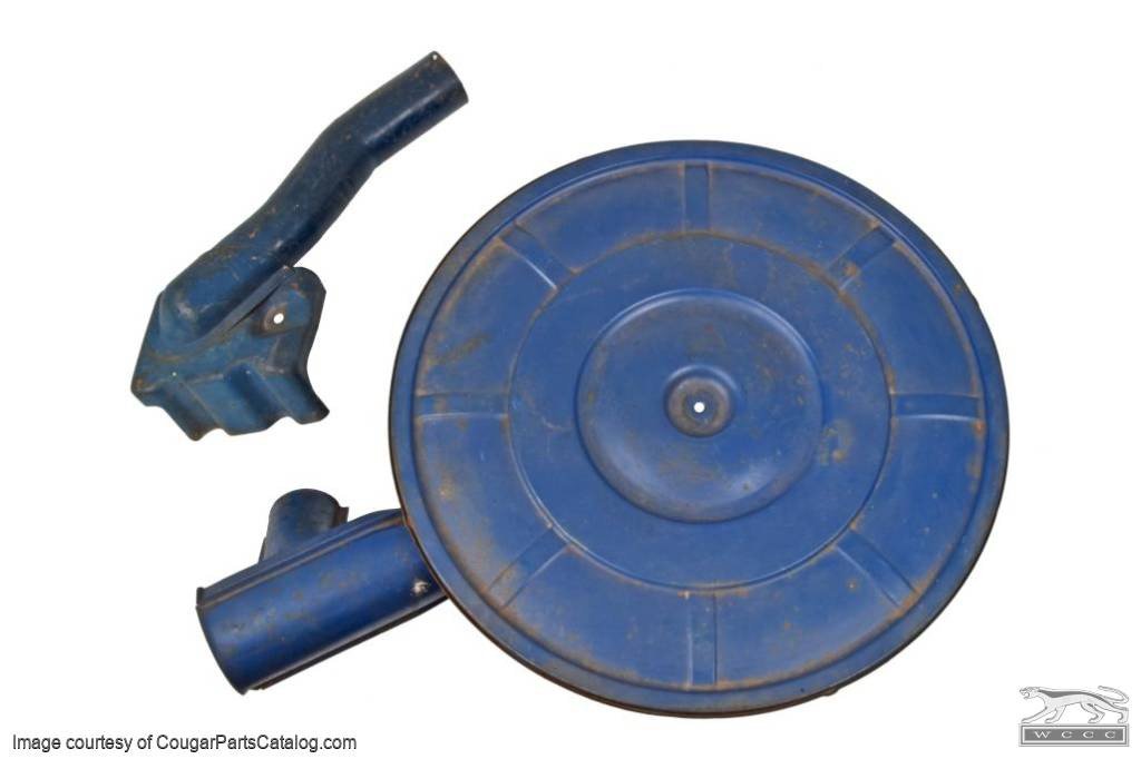 Air Cleaner Kit - 289-2V / 289-4V - 49 States - Used ~ 1967 Mercury Cougar / 1967 Ford Mustang  - 30422