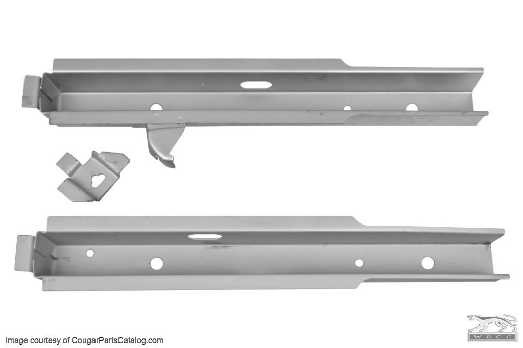 Frame Rail - Floor Support - Pair - Repro ~ 1969 - 1970 Mercury Cougar / 1969 - 1970 Ford Mustang  - 30471