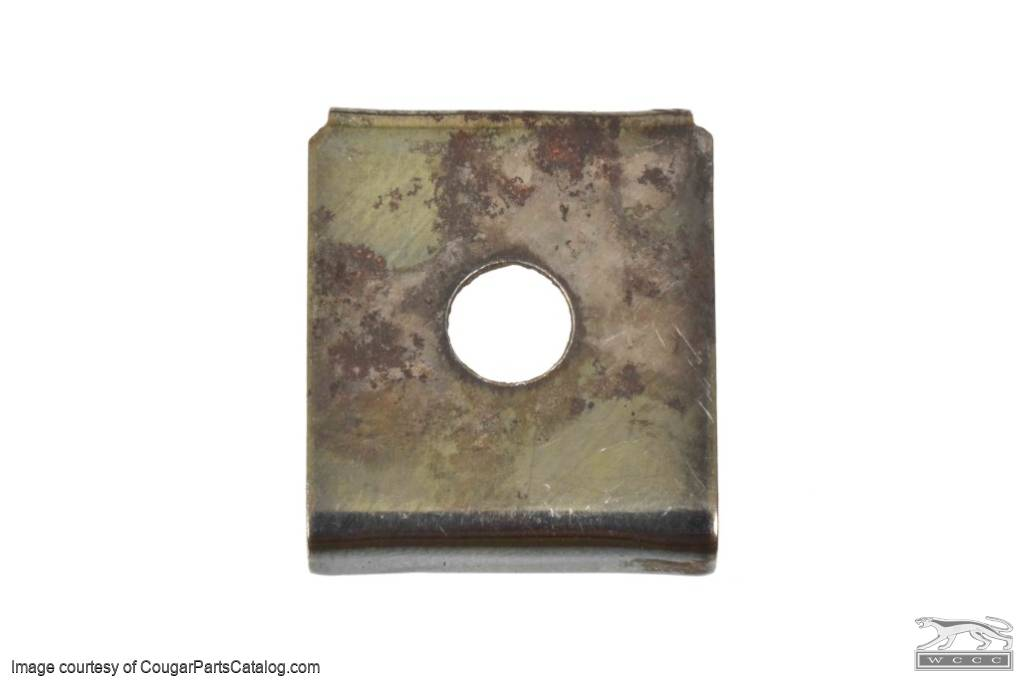 Retaining Clip - Sun Roof Drive Cable - Used ~ 1967 - 1973 Mercury Cougar / 1967 - 1973 Ford Mustang  - 30609