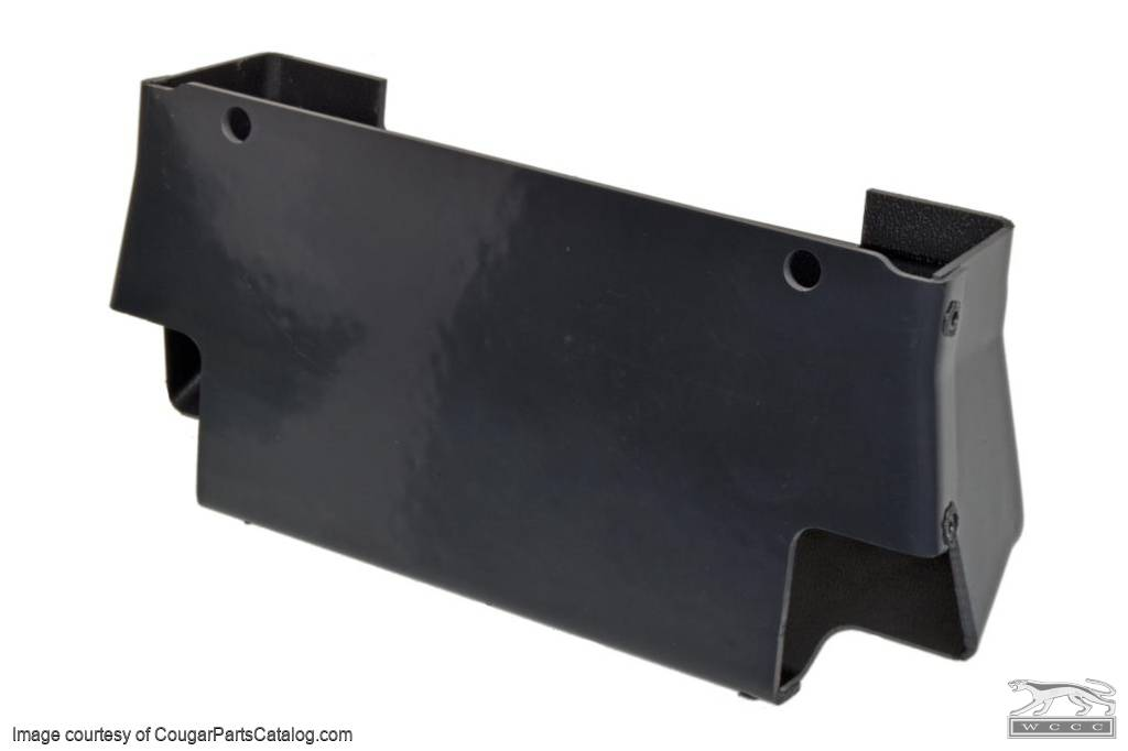 A/C Floor Duct - w/o Console - Repro ~ 1967 - 1968 Mercury Cougar / 1967 - 1968 Ford Mustang  - 30614