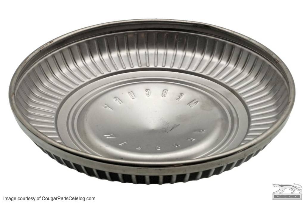 Hubcap / Wheel Cover - Dog Dish Style - Standard - NOS ~ 1967 - 1969 Mercury Cougar - 31065