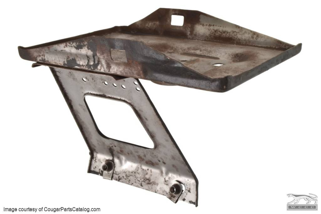 Battery Tray - Group 24 - Used ~ 1967 Mercury Cougar / 1967 Ford Mustang - 30632