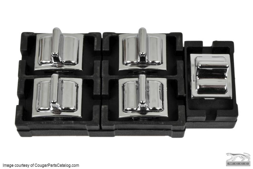 Master Switch - Power Window - Repro ~ 1973 Mercury Cougar / 1973 Ford Mustang - 30683