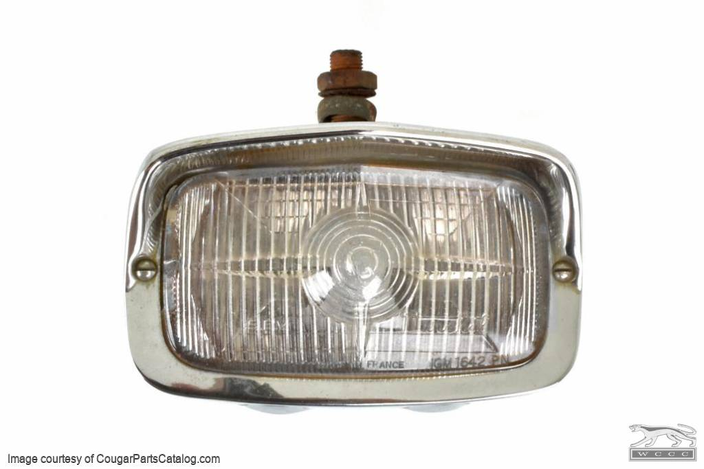 Fog Light - XR7G - Marchal - Used ~ 1968 Mercury Cougar XR7G / 1968 For Mustang Shelby - 30807