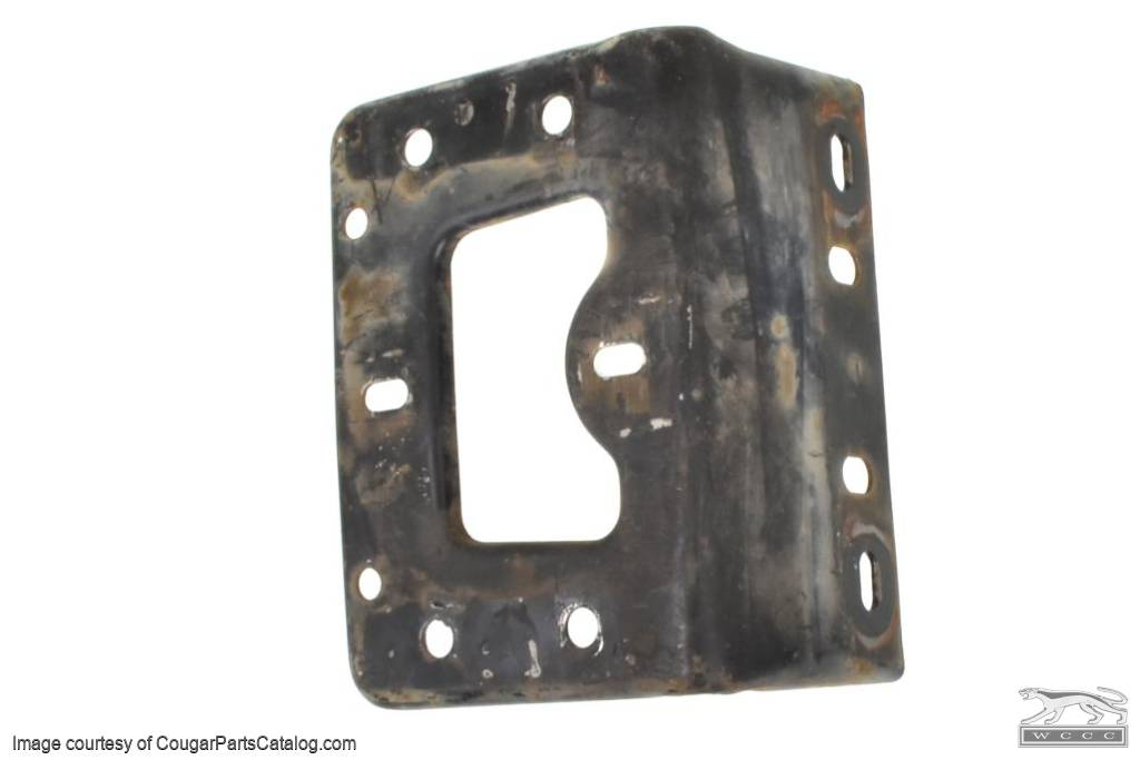 Support - for Hood Latch - Used ~ 1967 - 1968 Mercury Cougar - 30818