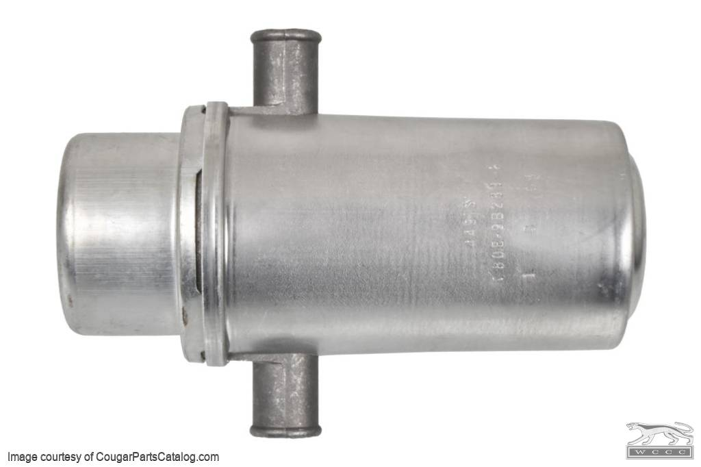Valve - Anti Backfire - Carter 4491S - 390GT / 427 GT-E / 428CJ - Any Date - Repro ~ 1968 - 1970 Mercury Cougar / 1968 - 1970 Ford Mustang - 30841