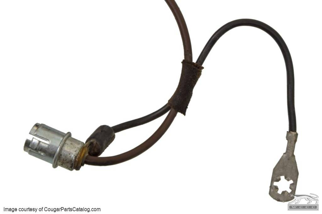 Wiring Harness - Automatic Transmission Shifter - C-6 - Used ~ 1971 - 1973 Mercury Cougar / 1971 - 1973 Ford Mustang - 30987