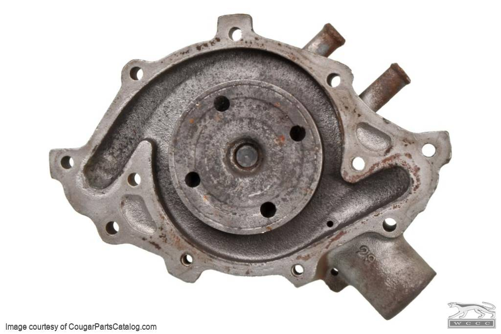 Water Pump - 289 - C6OE-A - Core ~ 1967 - 1968 Mercury Cougar / 1966 - 1968 Ford Mustang - 31027