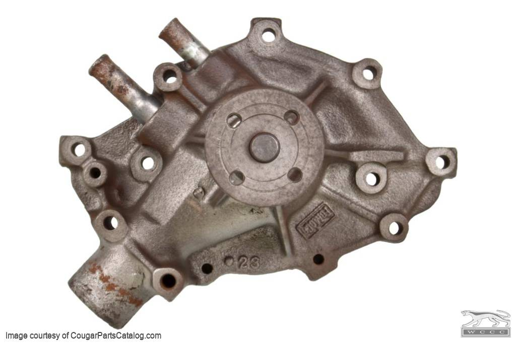 Water Pump - 289 / 302 / 351W - C8OE-D - Core ~ 1968 - 1969 Mercury Cougar / 1968 - 1969 Ford Mustang - 31029