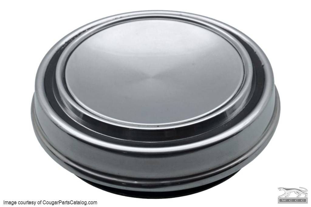 Hubcap / Wheel Cover - Dog Dish Style - Eliminator - Grade A - Used ~ 1969 - 1973 Mercury Cougar / Cyclone 1968 - 1973 Ford / 1969 - 1973 Ford Mustang / Torino - 31080