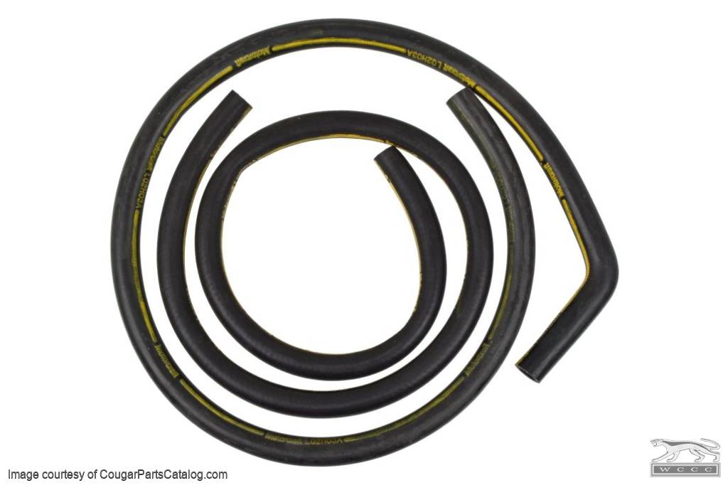 Heater Hose - w/ A/C - Concours Correct - Repro ~ 1973 Mercury Cougar / 1973 Ford Mustang - 31110