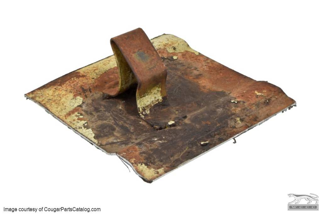 Front Retainer - Rear Seat Cushion - EACH - Used ~ 1967 - 1970 Mercury Cougar - 31130
