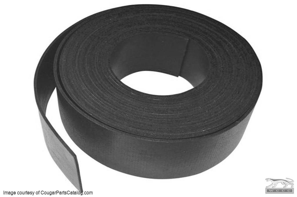 Glass Setting Tape - Stainless Trim to Glass Seal - Repro ~ 1967 - 1968 Mercury Cougar / 1967 - 1968 Ford Mustang - 31146