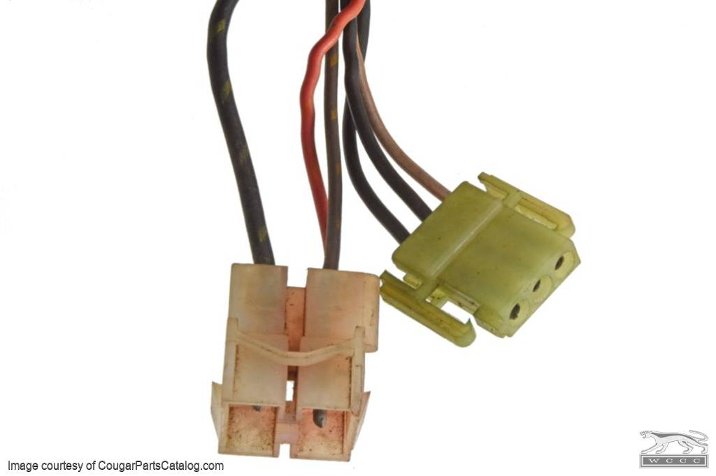 Modulation System - Wiring Harness - Used ~ 1972 Mercury Cougar / 1972 Ford Mustang - 31270