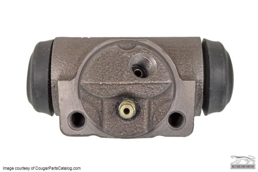 Brake - Wheel Cylinder - 390 / 427 / 428CJ - Driver / Passenger Side Rear - 1-3/4 Inch Shoes - PREMIUM - Repro ~ 1967 - 1968 Mercury Cougar / 1967 - 1968 Ford Mustang - 31342