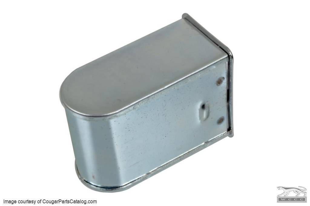 Receptacle - Ashtray - Rear Interior Panel - Convertible - Repro ~ 1969 - 1970 Mercury Cougar / 1969 - 1970 Ford Mustang - 31383
