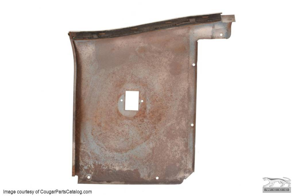 Upper Rear Interior Panel - Power Window - Convertible - Driver Side - Grade A - Used ~ 1969 - 1970 Mercury Cougar - 31402