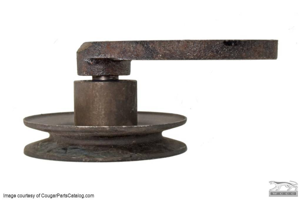 Idler Pulley - Adjustable - 289 / 302 - NOS ~ 1967 - 1968 Mercury Cougar / 1967 - 1968 Ford Mustang - 31442