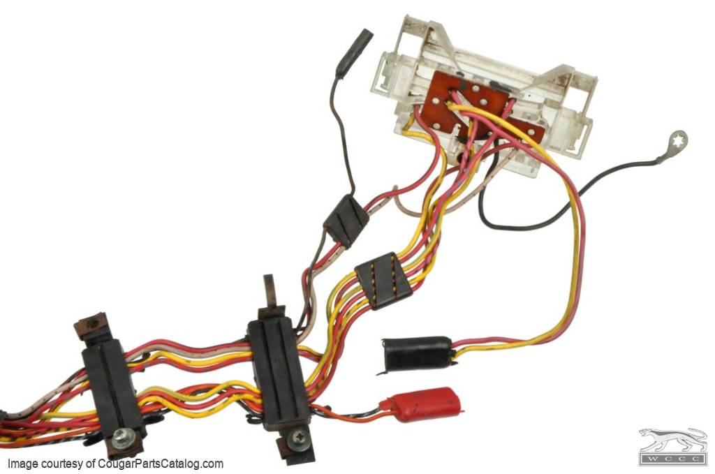 1438291312_k door wiring harness power window driver side used ~ 1973 1990 Mustang Wiring Harness at gsmx.co