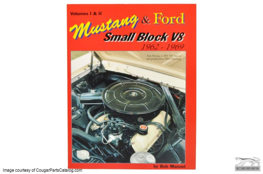 Mustang and Ford Small Block V-8 Book - Manual - New ~ 1967 - 1968 Mercury Cougar - 1965 - 1969 Ford Mustang - 41344