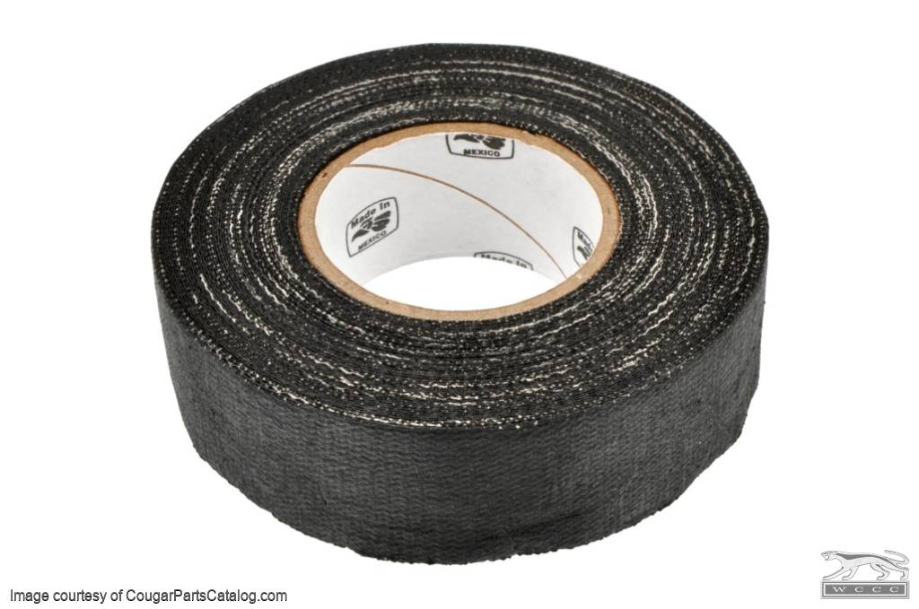 Electrical Cloth Friction Tape - Repro ~ 1967 - 1973 Mercury Cougar - 1967 - 1973 Ford Mustang - 41433