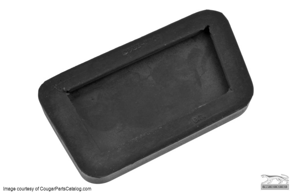 Pad - Clutch Pedal - Repro ~ 1967 - 1968 Mercury Cougar / 1967 - 1968 Ford Mustang - 41493