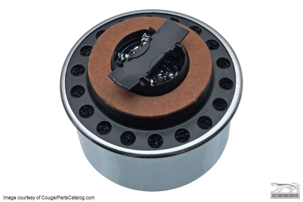 Oil Cap - Twist-On - 289 / 390 - Open Emissions - Repro ~ 1967 Mercury Cougar / 1967 Ford Mustang - 41566